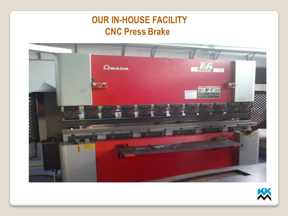 LMP INDUSTRIES OUR IN-HOUSE FACILITY CNC Press Brake