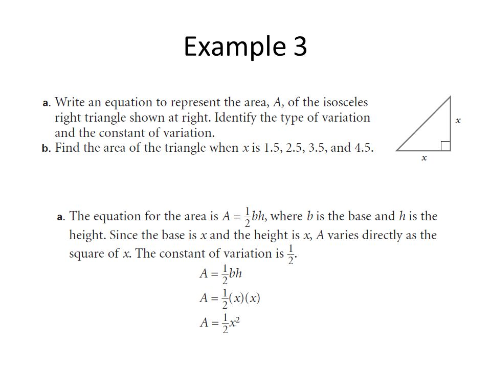 Joint and combined variation word problems (solutions, examples.