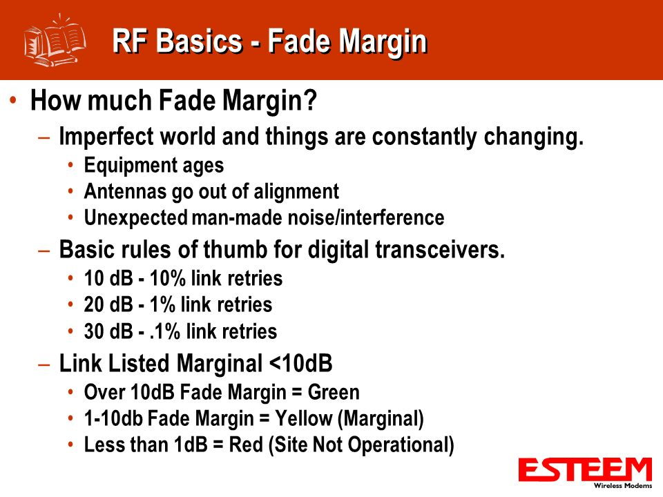 RF Basics - Fade Margin How much Fade Margin