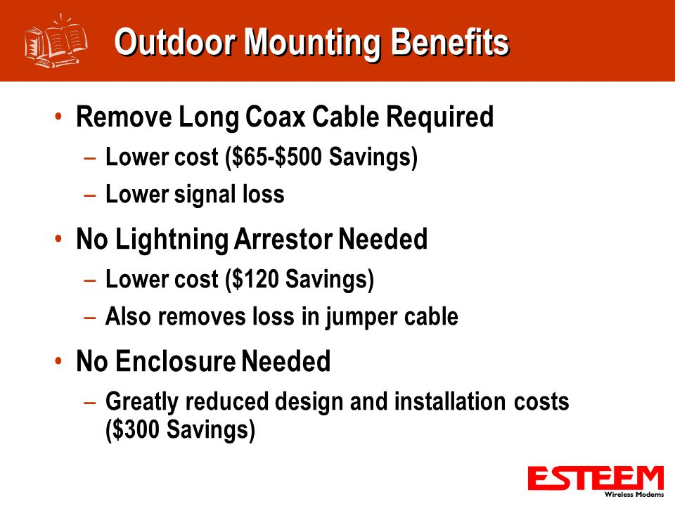 Outdoor Mounting Benefits
