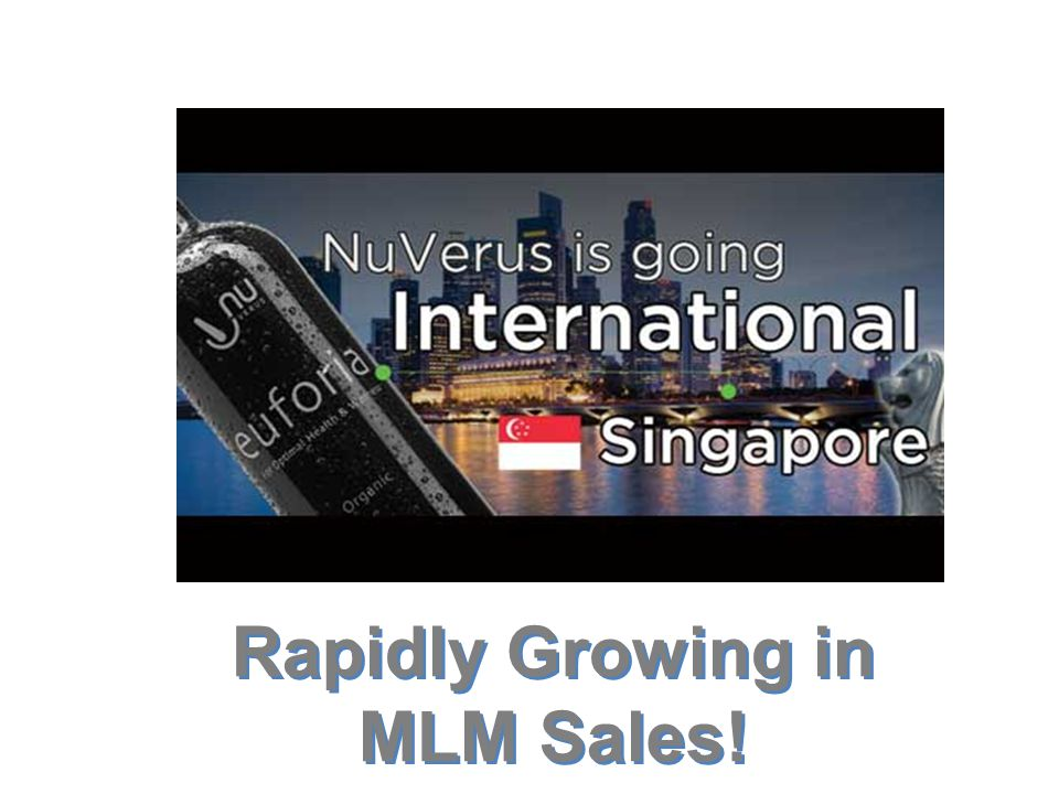 Rapidly Growing in MLM Sales!