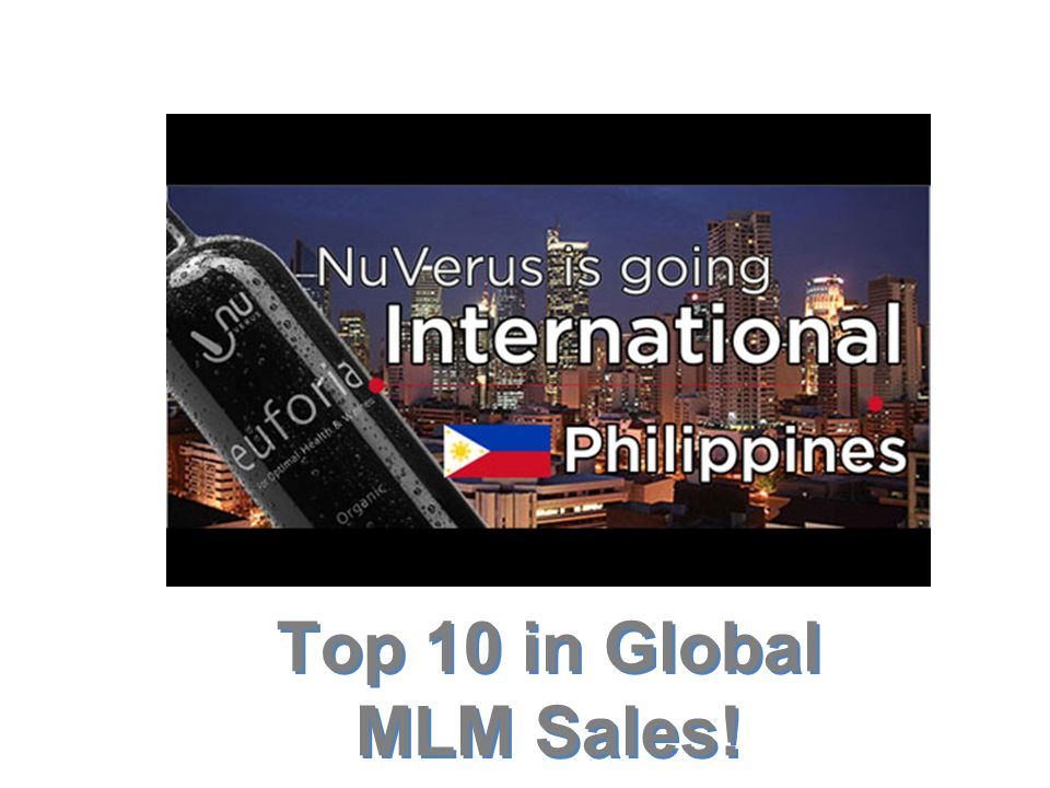 Top 10 in Global MLM Sales!