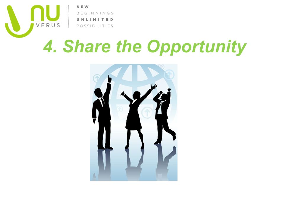 4. Share the Opportunity Picture of euforia