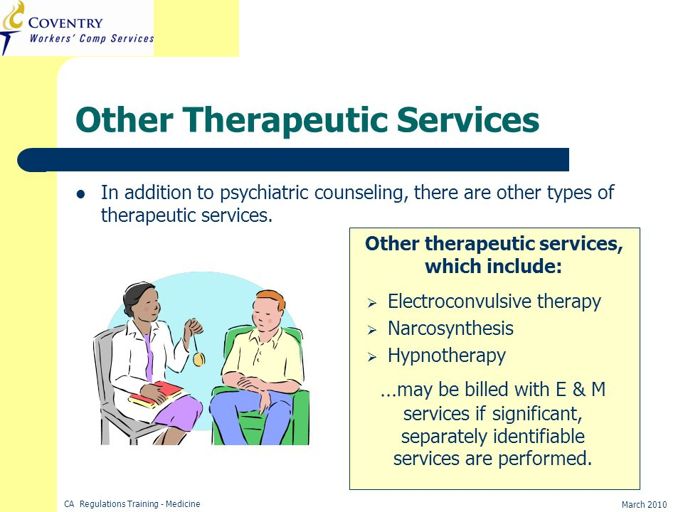 Other Therapeutic Services