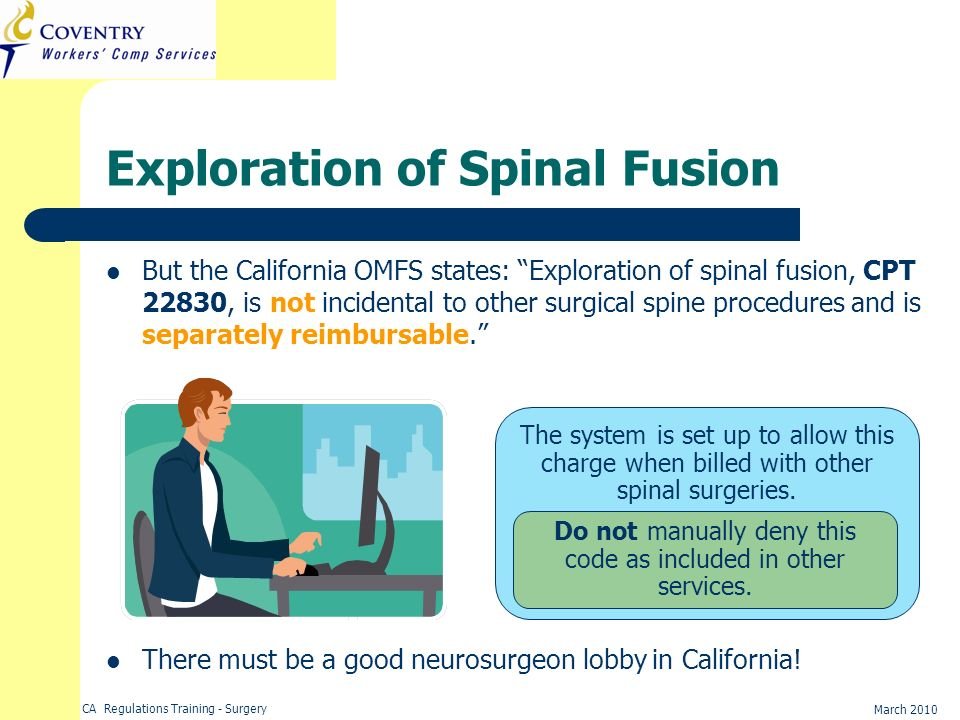 Exploration of Spinal Fusion