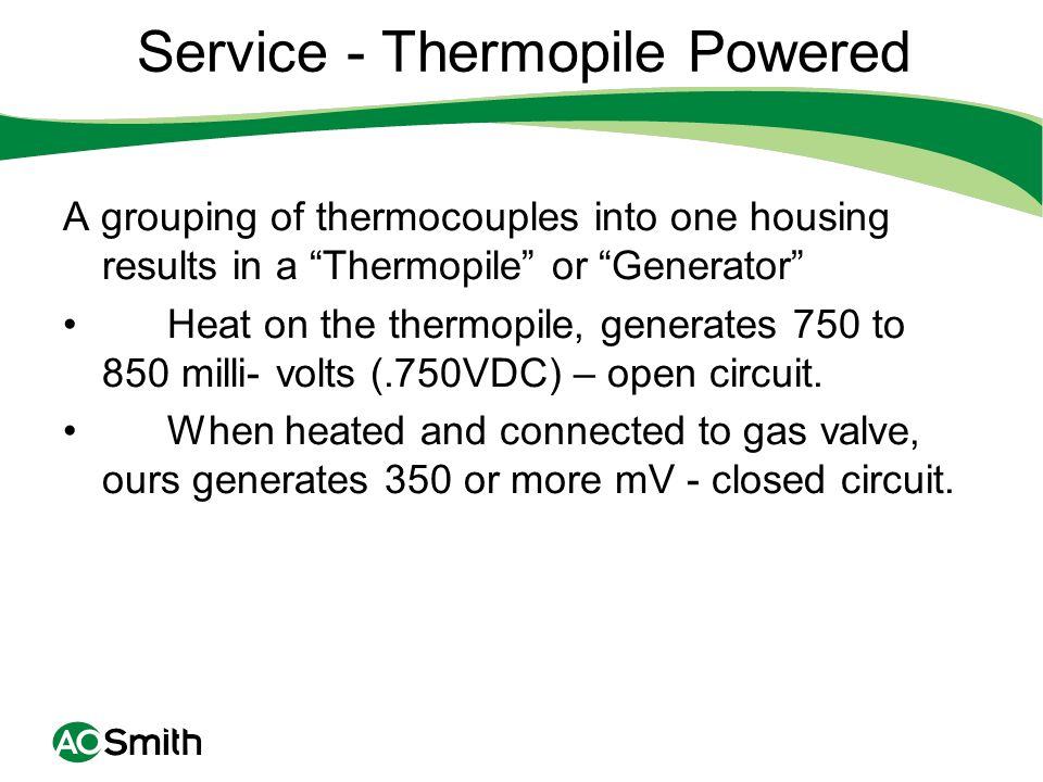 Service - Thermopile Powered