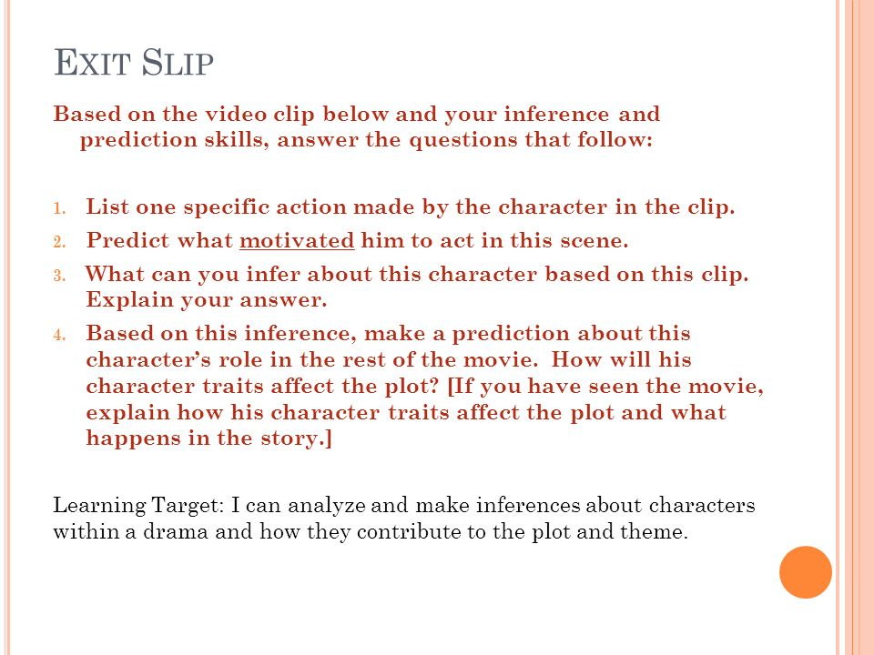 Bell Ringer Unit V PreTest Character Introductions and