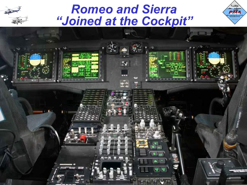 Romeo and Sierra Joined at the Cockpit