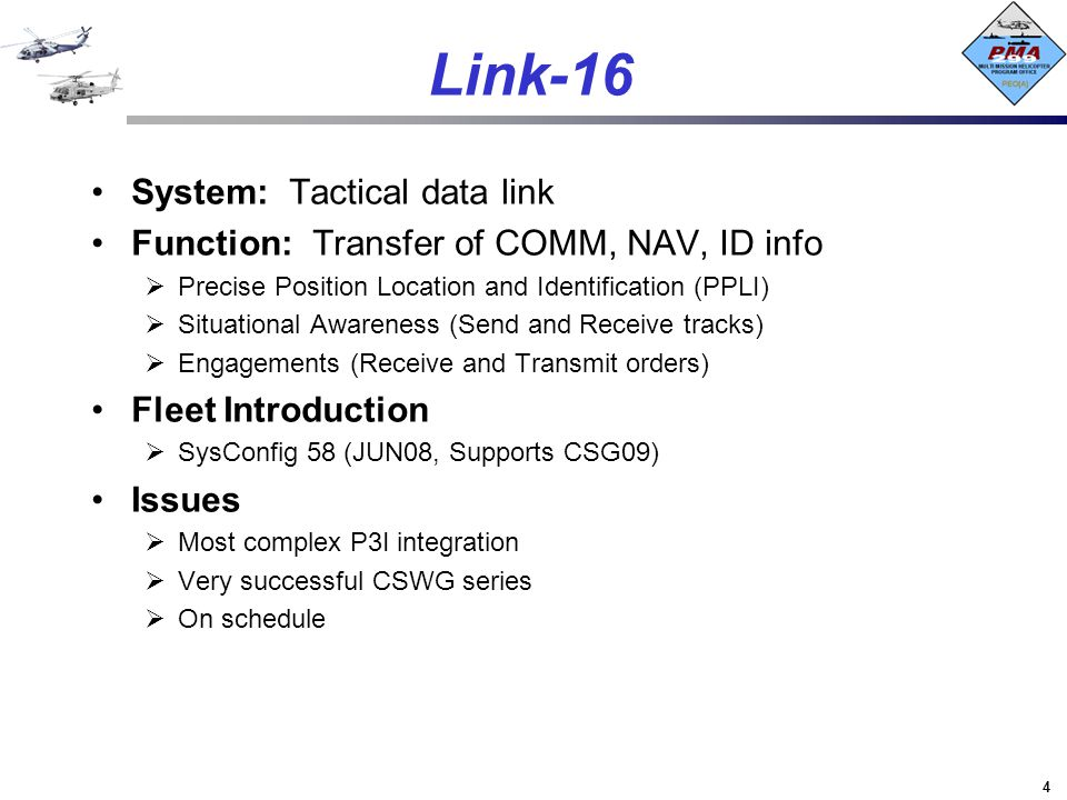 Link-16 System: Tactical data link