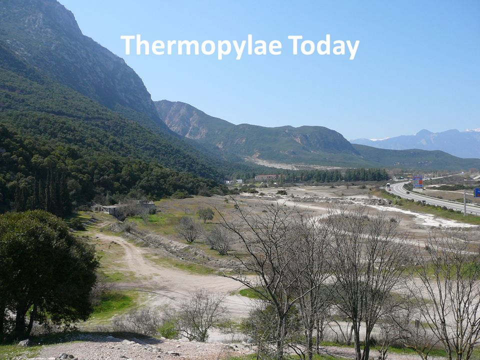 Thermopylae Today