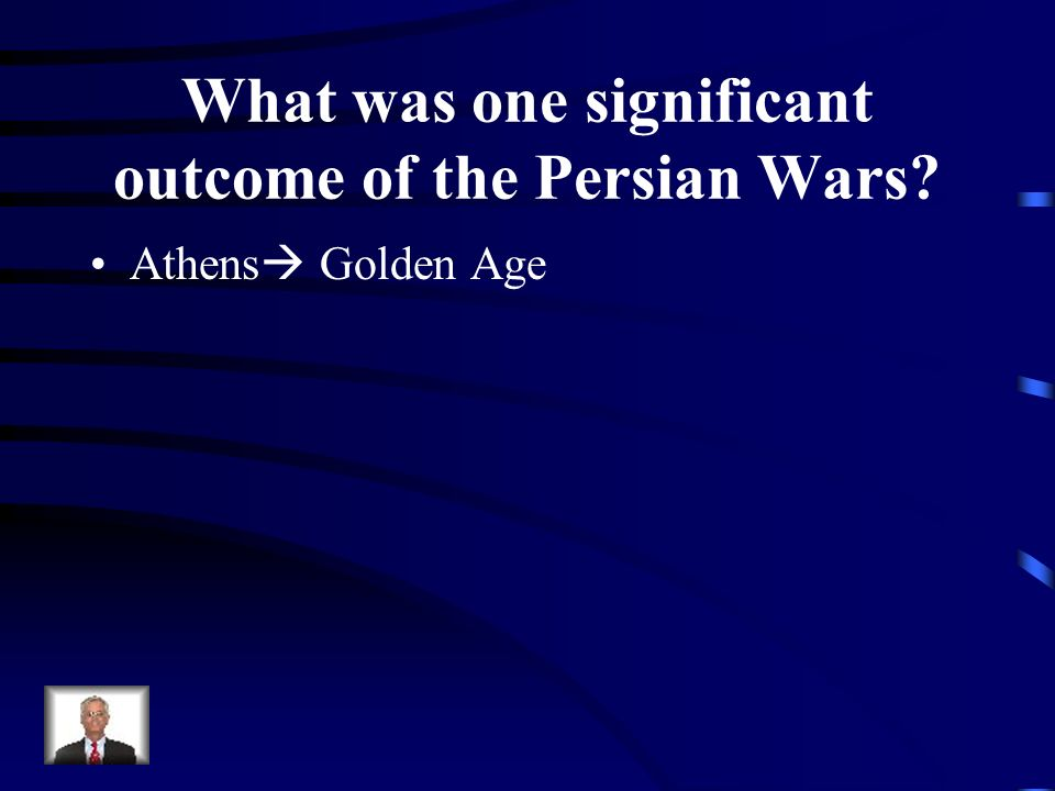 What was one significant outcome of the Persian Wars