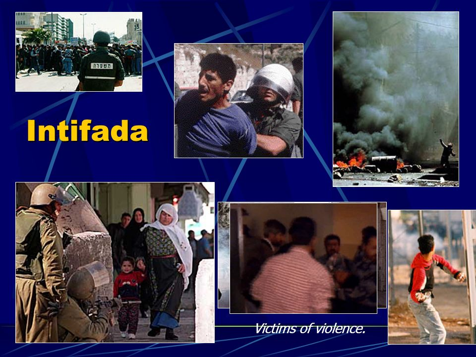 Intifada Victims of violence.