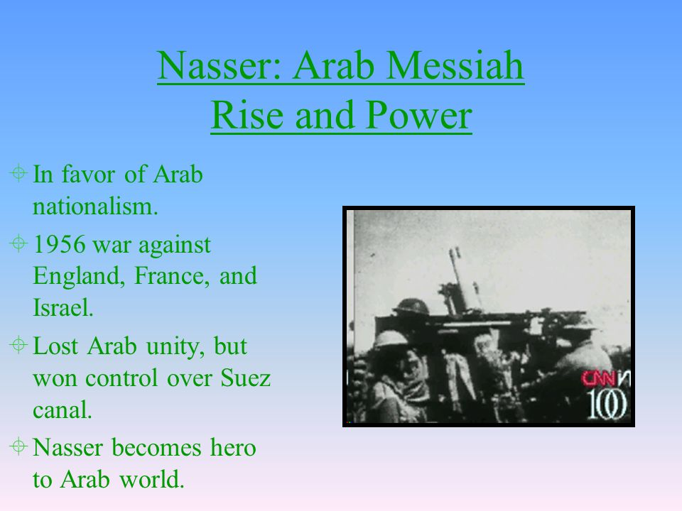 Nasser: Arab Messiah Rise and Power