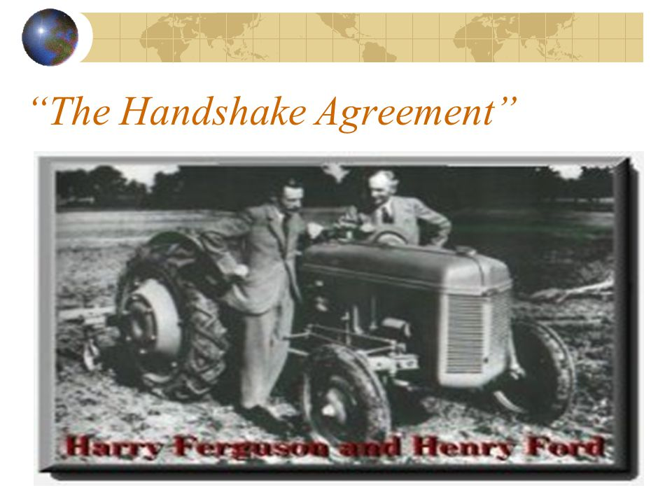 The Handshake Agreement