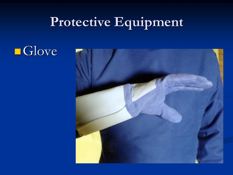 Protective Equipment Glove