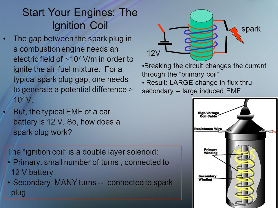 Start Your Engines: The Ignition Coil