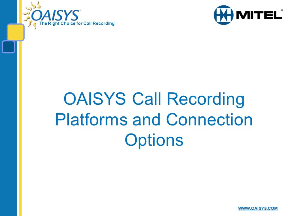 Call Recording Solution Configuration