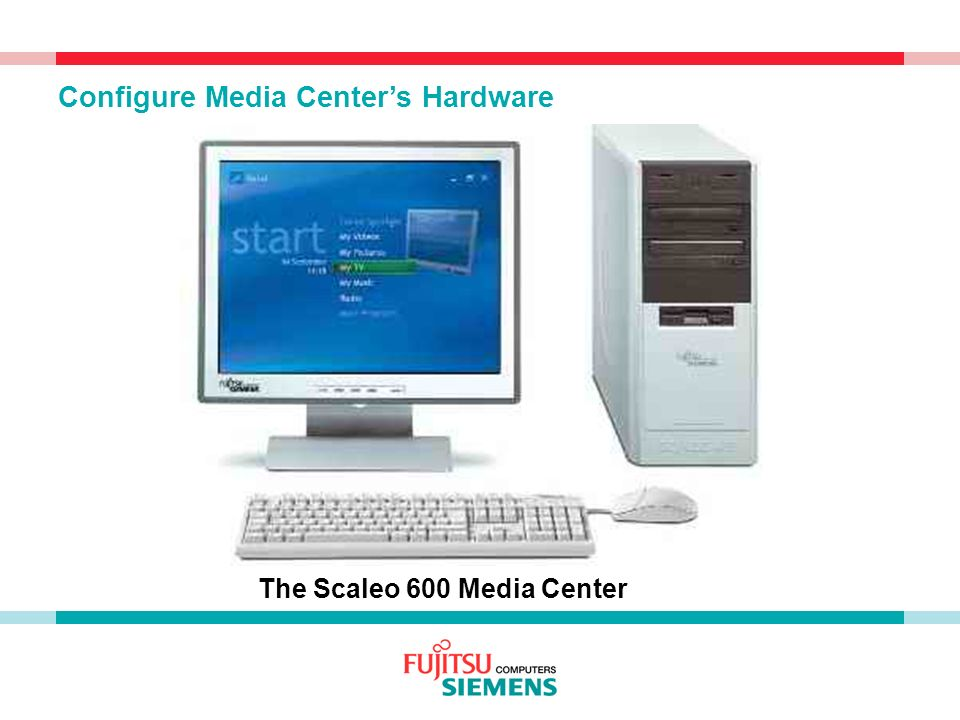 The Scaleo 600 Media Center