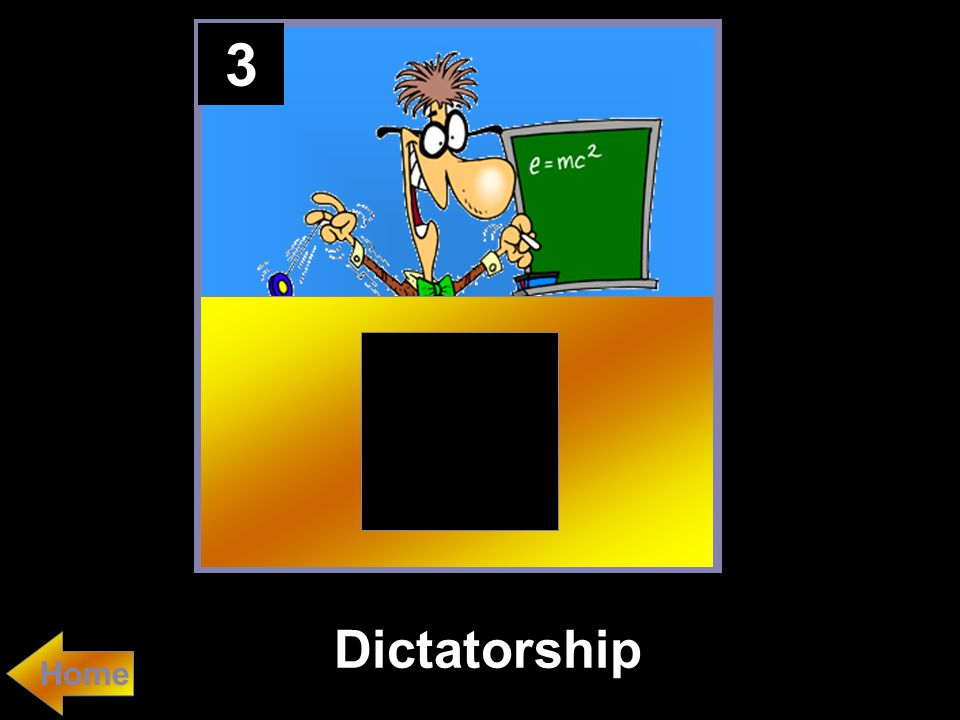 3 Dictatorship Home
