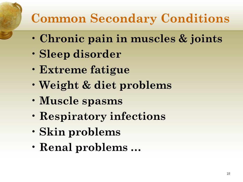 Common Secondary Conditions