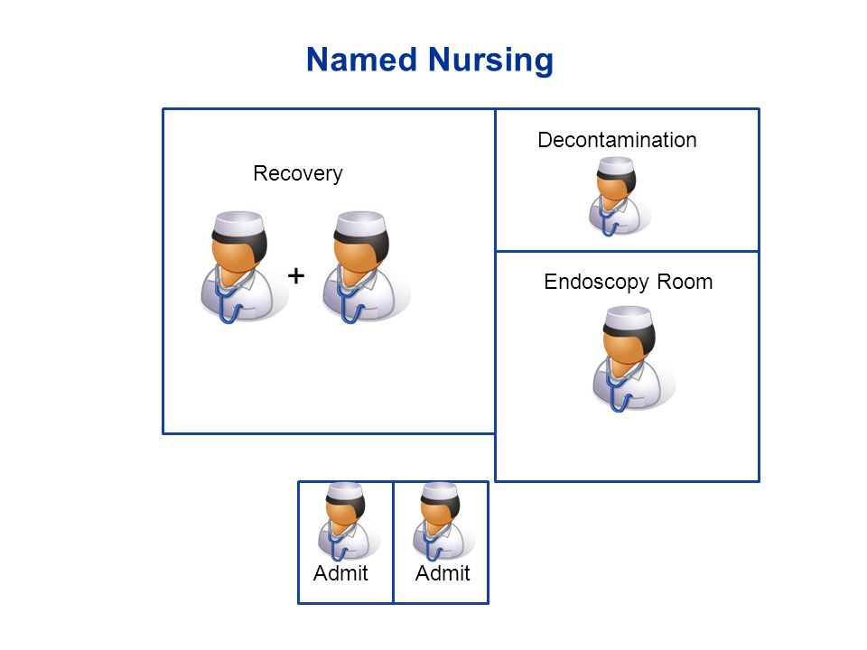 Named Nursing + Endoscopy Room Admit Decontamination Recovery Admit 52