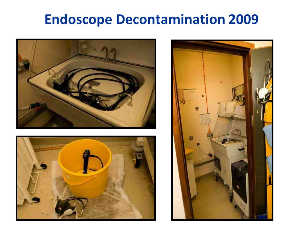 Endoscope Decontamination 2009
