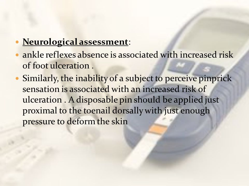 Neurological assessment: