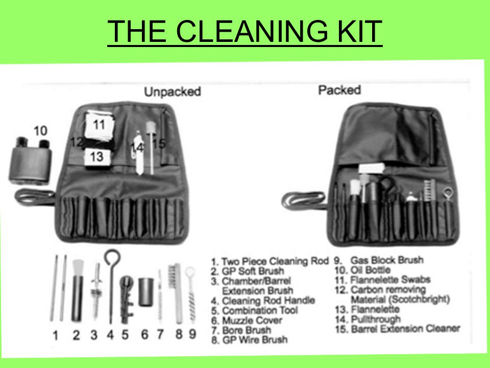 THE CLEANING KIT 59
