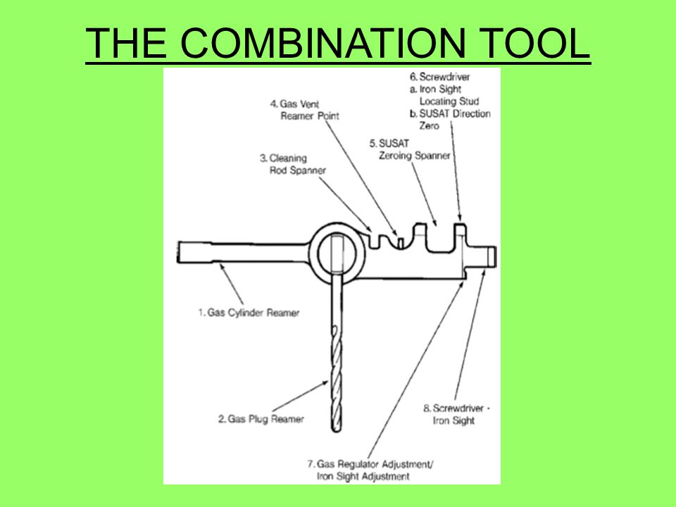 THE COMBINATION TOOL 60