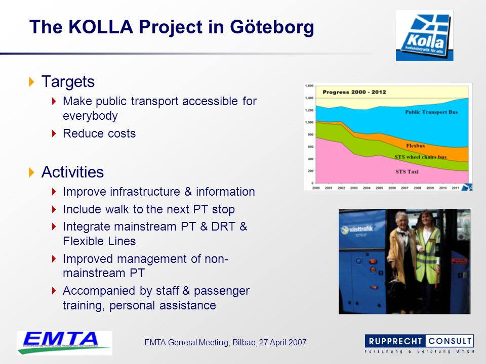 The KOLLA Project in Göteborg