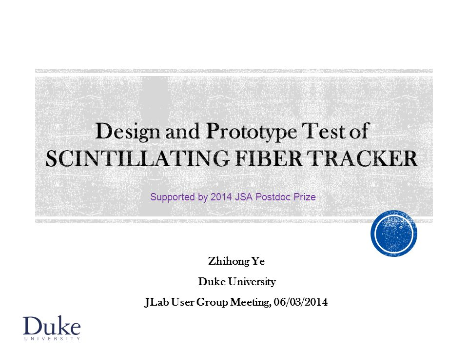 Design and Prototype Test of SCINTILLATING FIBER TRACKER
