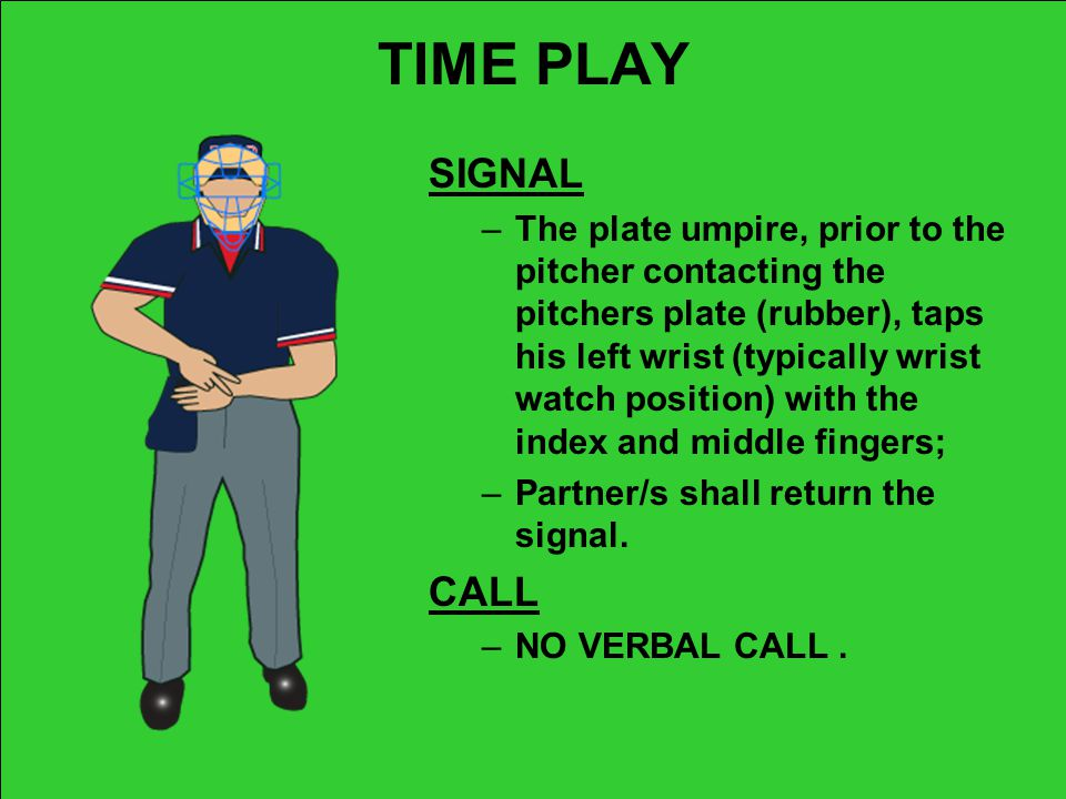 TIME PLAY SIGNAL.