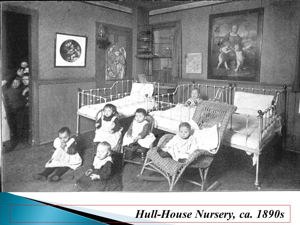 Hull-House Nursery, ca. 1890s