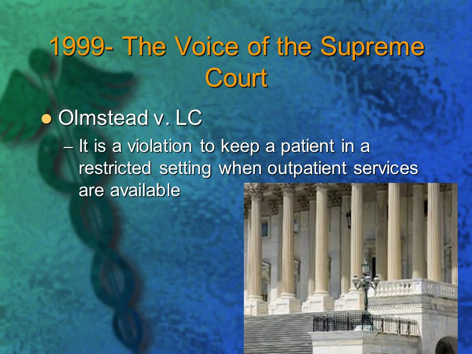 1999- The Voice of the Supreme Court