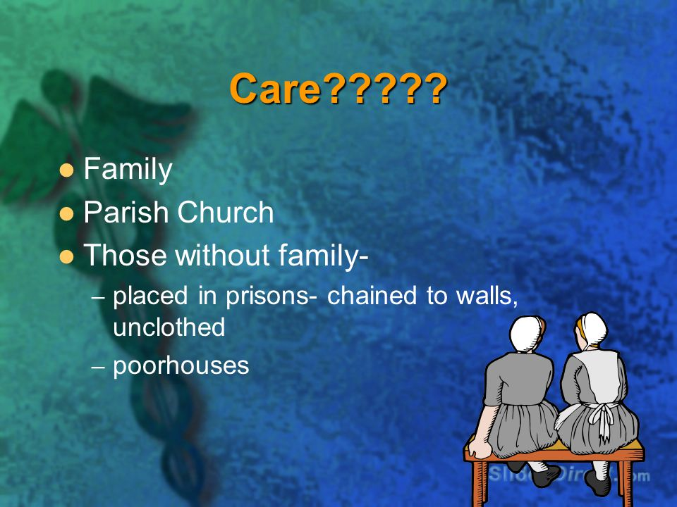 Care Family Parish Church Those without family-