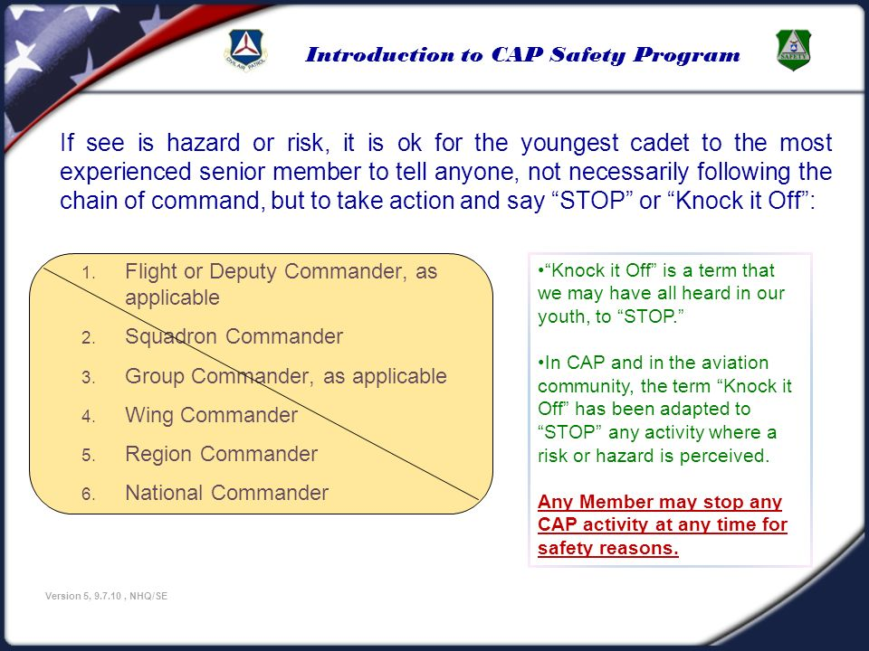 U.S Civil Air Patrol 3/25/2017.
