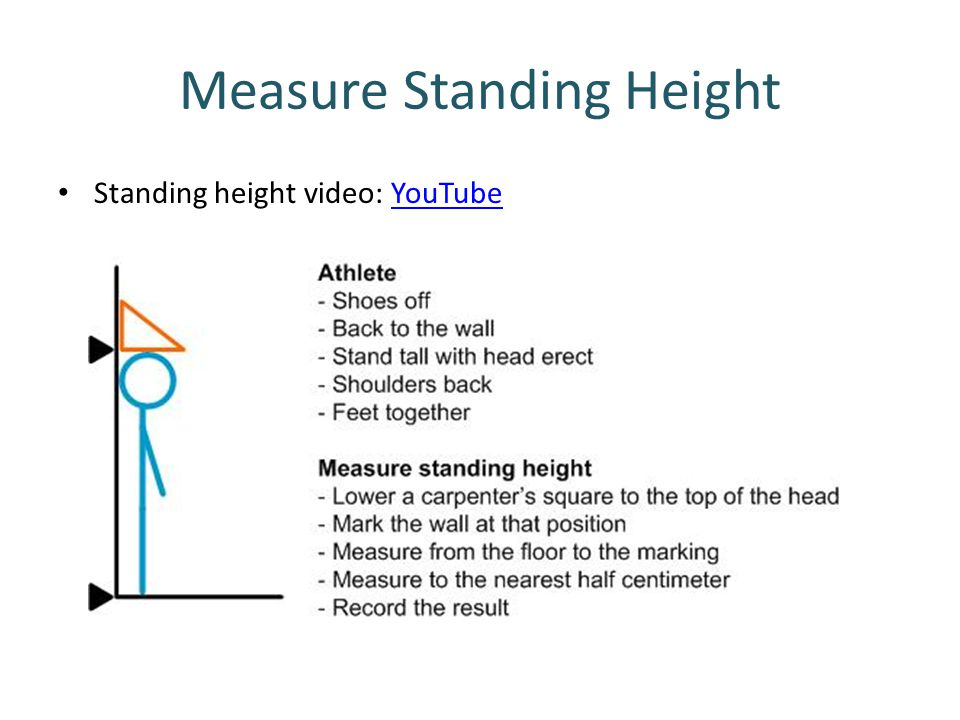 Measure Standing Height