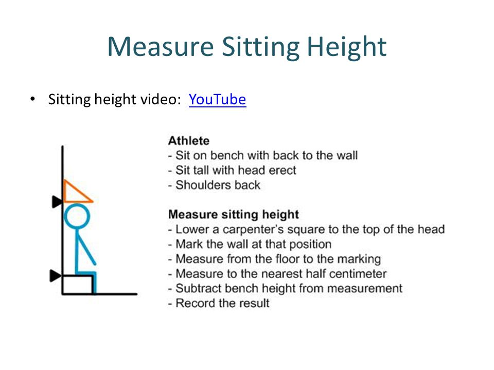 Measure Sitting Height