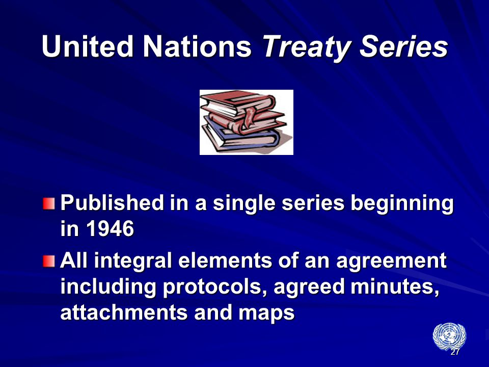 United Nations Treaty Series