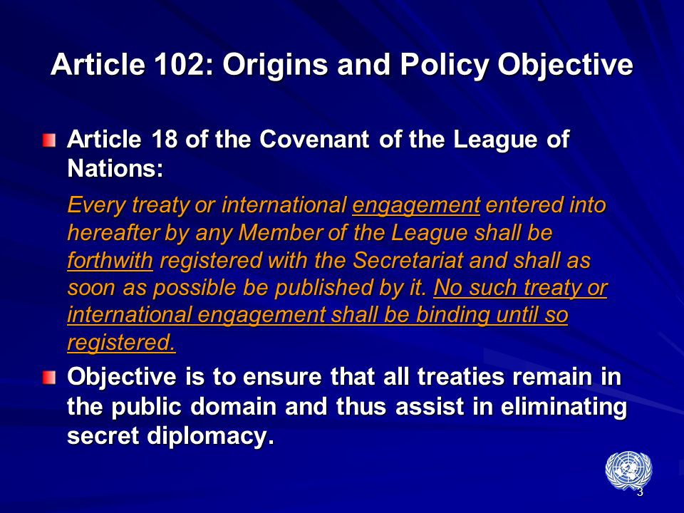 Article 102: Origins and Policy Objective