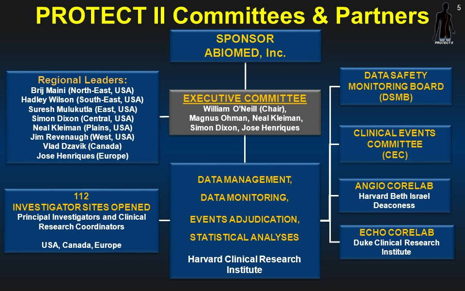 PROTECT II Committees & Partners