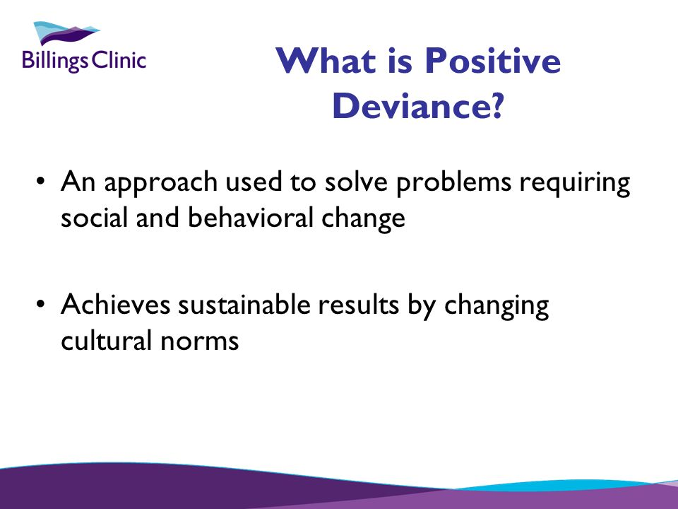 What is Positive Deviance