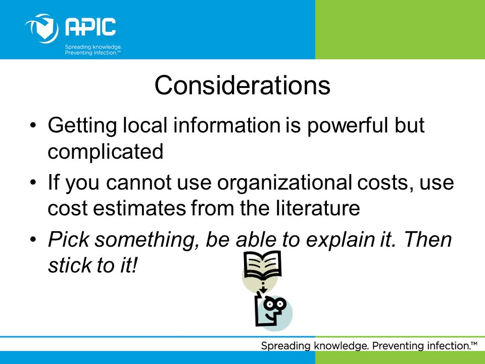 Considerations Getting local information is powerful but complicated