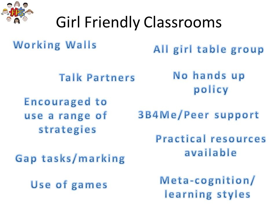 Girl Friendly Classrooms
