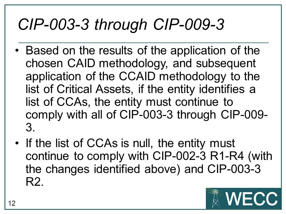 CIP-003-3 through CIP-009-3