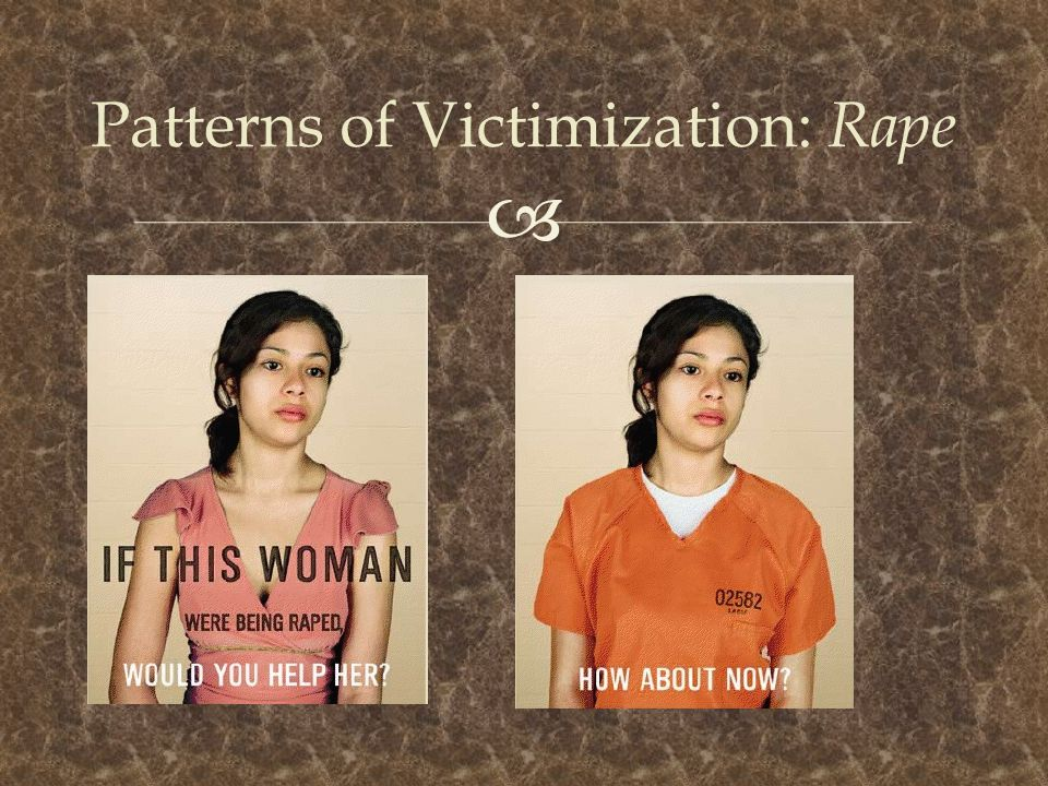 Patterns of Victimization: Rape