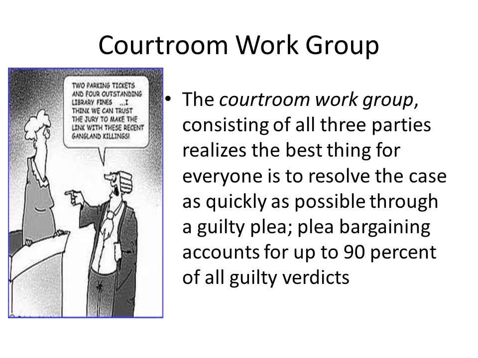 Courtroom Work Group