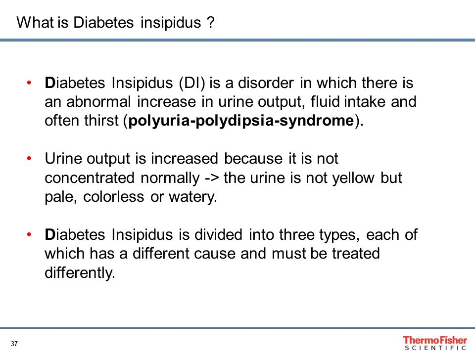 What is Diabetes insipidus