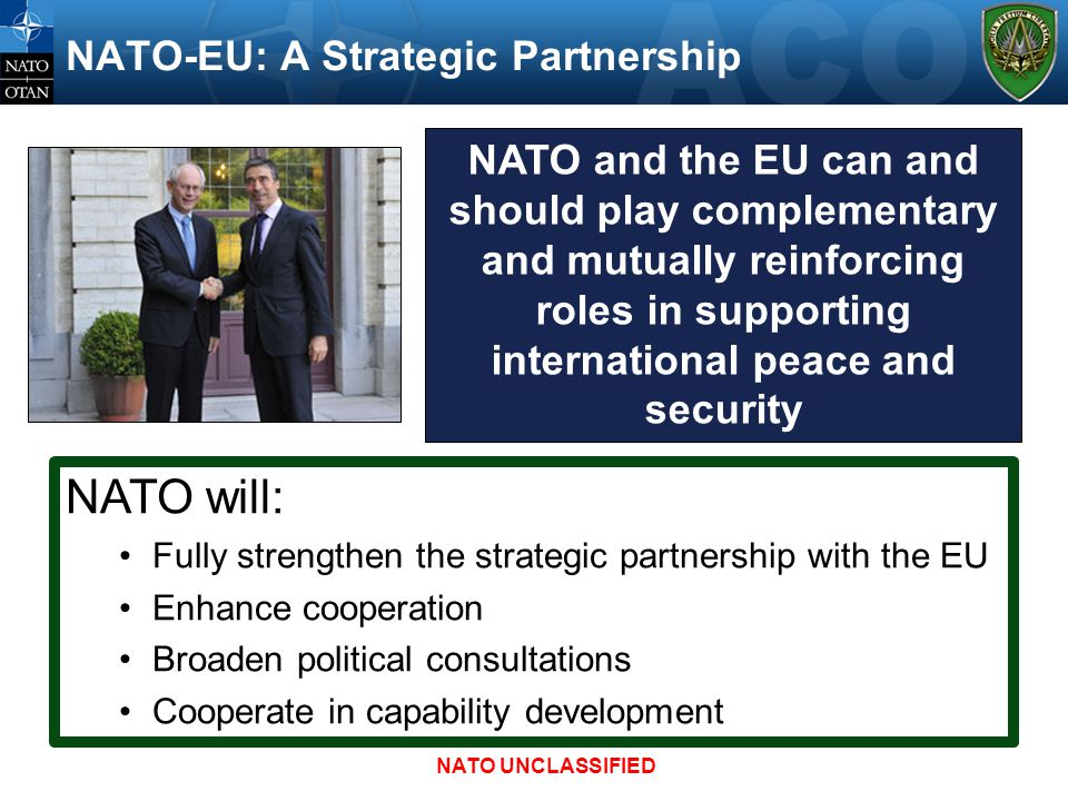 NATO-EU: A Strategic Partnership