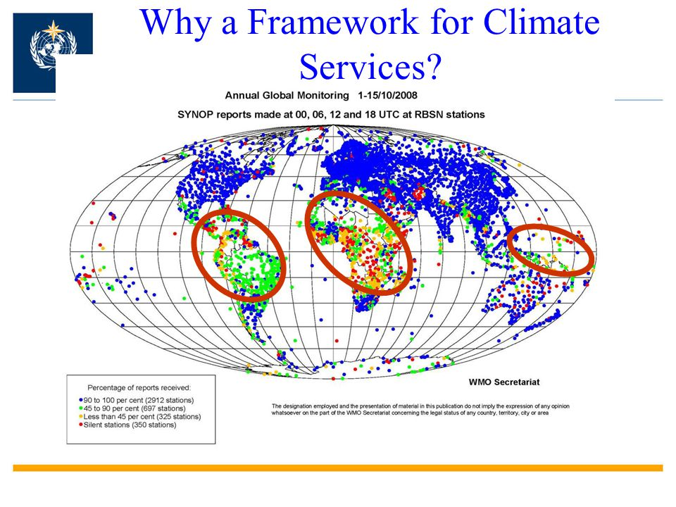 Why a Framework for Climate Services